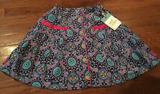 NWT Matilda Jane Paint By Numbers Oils and Canvas Skirt Size 10