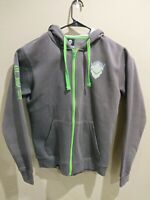 Overwatch Ultimate Genji Hoodie - Large Zip-Up - Charcoal Size Medium