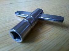 Tecla de ajuste de la piel del tambor metálico 6mm Nuevo