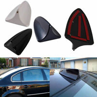 Auto Car Protective Antenna Shark Fin Decoration Radio Antena Aerials Black ABS