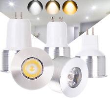 Luces Spot LED 3 W GU10 MR16 GU5.3 Bombilla luz AC 220 V DC 12 V Lámpara de 15 W equivalente