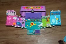 Vintage 1993 Toy Biz Caboodles Jewel Minis Lot 2 Miniature cases/charms dolls
