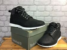 TIMBERLAND MENS UK 8 EU 42 KILLINGTON CHUKKA BLACK LEATHER BOOTS RRP£ £115 LG