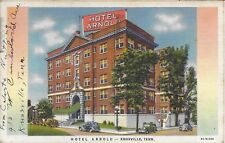 Hotel Arnold Nashville TN postally used in 1938