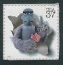 Scott  #3944-c... 37 Cent...Muppets...Sam The Eagle...3 Stamps
