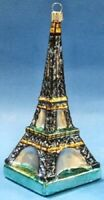 Eiffel Tower Paris German Glass Large Christmas Tree Ornament France Decoration