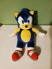 "20"" Sonic the Hedgehog Build A Bear Retired Sega Nintendo Stuffed Plush"