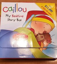 Caillou: My Bedtime Story Box by Chouette Publishing Staff (2012, Books)