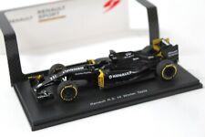 1:43 Spark Renault R.S. 16 Winter Tests black DEALER VERSION