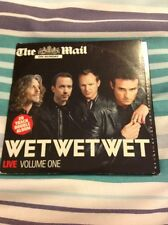 WET WET WET CD Double Disk Cd ( The Mail on Sunday)