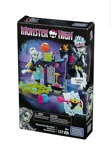 Monster High Frankie Stein Physical Deaducation Gym Building Blocks - Mega Bloks