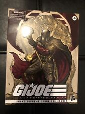 "GI Joe Classified Series 6"" Snake Supreme Cobra Commander Exclusive, IN HAND New"