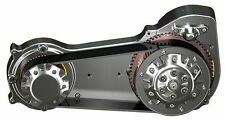 "Ultima Polished 2"" Open Belt Drive for Evolution & TwinCam Dyna Models 1990-2006"