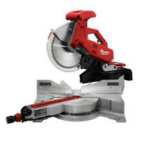 """Milwaukee 12"""" Dual-Bevel Sliding Compound Miter Saw 6955-80 Reconditioned"""