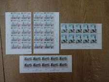 FINLAND 1972-76 PICTORIAL DEFINITIVES PLATE BLOCKS OF 10 UNMOUNTED MINT