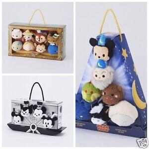 D23 EXPO Japan 2015 TSUM TSUM Steamboat Sercere Mickey Pinocchio Box Set of 3