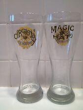 Pair of Magic Hat Circus Boy 22oz Pilsner Glasses!!!