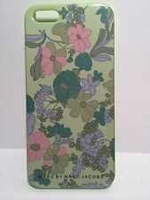 Marc By Marc Jacobs Green Floral Printed Hard Case for iPhone 5 5S W/Retail PK