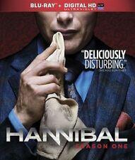 Hannibal: The Complete Season One (Blu-ray Disc, 2013, 3-Disc Set) LIKE NEW