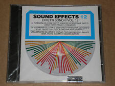 SOUND EFFECTS 12 - EFFETTI SONORI VOL. 12 - CD SIGILLATO (SEALED)