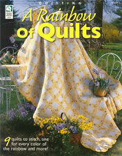 House of White Birches Quilting A RAINBOW OF QUILTS Patterns Book ~ NEW