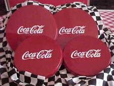 ~~~ELECTRIC BURNER COVER SET ****COKE RED****  {{COCA COLA}} NICE DECOR!