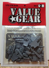 1/72 Scale Resin Tent, Tarp & Crates Stowage Set #3 - Value Gear