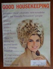 GOOD HOUSEKEEPING magazine Jan 1968 KATHARINE ROSS-Ronald Reagan-Jessamyn West