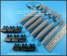 1/32 FL32-2020 Mk-82/BLU-111A/B Thermally Protected 500lb bomb with BSU-33 fin