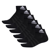 6 Par Adidas Rendimiento Zapatillas/Cuartos Calcetines Talla 35-54 Unisex Sock