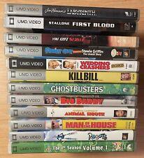PSP UMD Movie Lot 12 UMD's including Labyrinth, Animal House, Wedding Crashers..