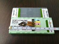 WALTER DCMT 11T308-PM5 WPP20 / DCMT3(2.5)2-PM5 WPP20 10 PCS CARBIDE INSERTS