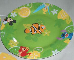 """El Disney Tienda Ariel, Cenicienta, Mickey, Stitch Niños 11"""" Plato"""