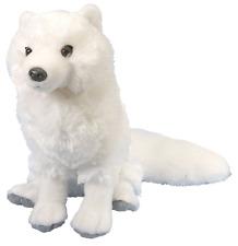 """Wild Republic Cuddlekins 12"""" Arctic Fox Plush Soft Toy Cuddly Teddy 12228"""