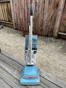 Vintage HOOVER Convertible Upright Vacuum Cleaner U4423 - Excellent - Blue