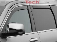 WeatherTech Side Window Deflectors for Jeep Grand Cherokee 11-18 Full Set Dark