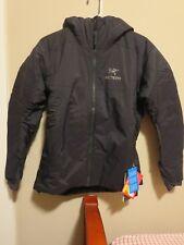 Mens New Arcteryx Atom AR Hoody Jacket Size Medium Color Black