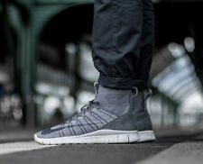NIKE FREE 5.0 FLYKNIT MERCURIAL Trainers Superfly SP - UK 8.5 (EUR 43) Wolf Grey