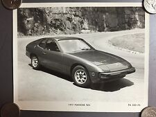 1977 Porsche 924 Coupe B&W Press Photo P+A Issued RARE!! Awesome L@@K