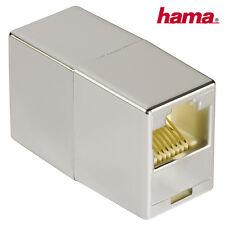 Hama CAT5e Netzwerk Adapter Modular 8p8c (RJ45) Kupplung Patchkabel verbinden