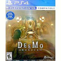 DEEMO REBORN PS4 US ENGLISH NEW SEALED PAL & NTSC COMPATIBLE REGION FREE
