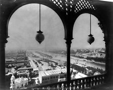 New 8x10 Photo: View of Paris From Arch Balcony of the Eiffel Tower, 1889