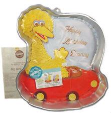 Big Bird in Nest / Car 1989 Cake Pan from Wilton #805