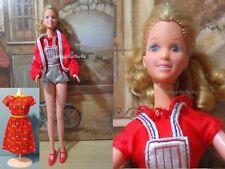 Vintage Barbie Doll Starr Teen Mattel & Clothes Lot Dress Romper Francie Twiggy