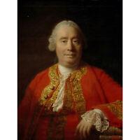 ALLAN RAMSAY DAVID HUME 1711 1776 HISTORIAN PHILOSOPHER ART PAINTING PRINT 12x16