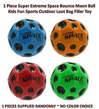 1 Super Extreme Space Bounce Moon Ball Kids Fun Outdoor Sports Loot Bag Filler