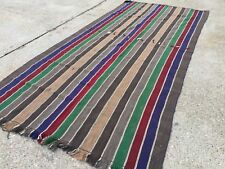 Vintage Turkish Kilim Kelim Rug 360x170cm shabby chic wool, country home, boho