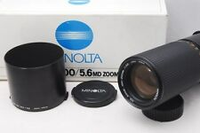@ Ship in 24 Hours! @ Mint! @ Minolta MD 100-200mm f5.6 MF Zoom Lens