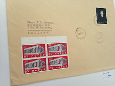 Norway 3 letters maybe FDC from Lovenstad,  Nosle & Duken