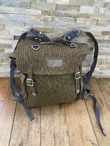 East German Army DDR NVA Bag Backpack With Straps Raindrop Strichtarn Military